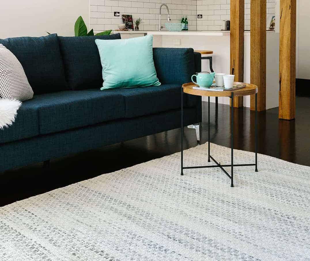 Braid Hive-Tusk pure wool rugs Perth