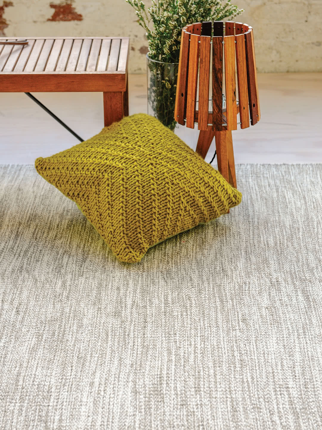 Braid Jumble pure wool rugs Perth