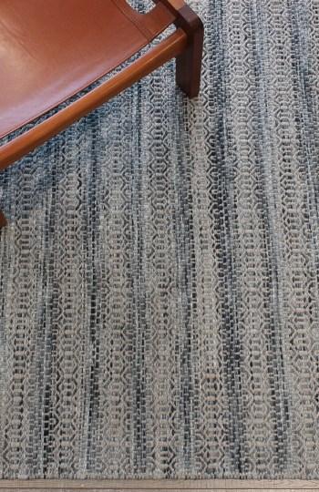 Braid Tempest-Denim pure wool rugs Perth