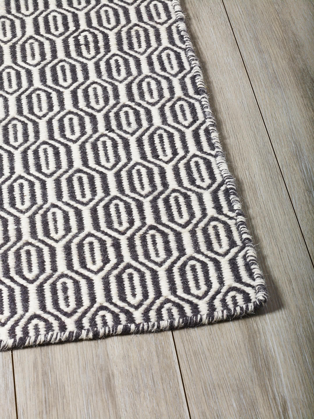 Frost Grey pure wool rugs Perth
