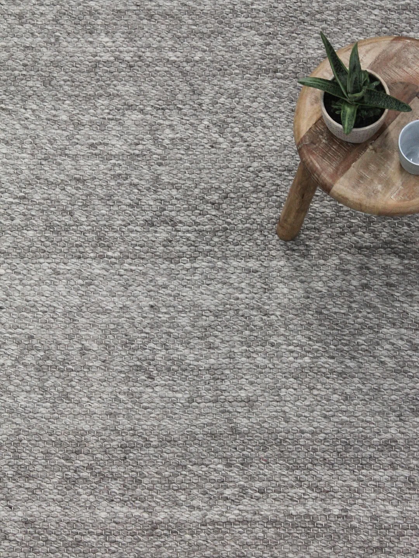 Hunter-Silver pure wool rugs Perth