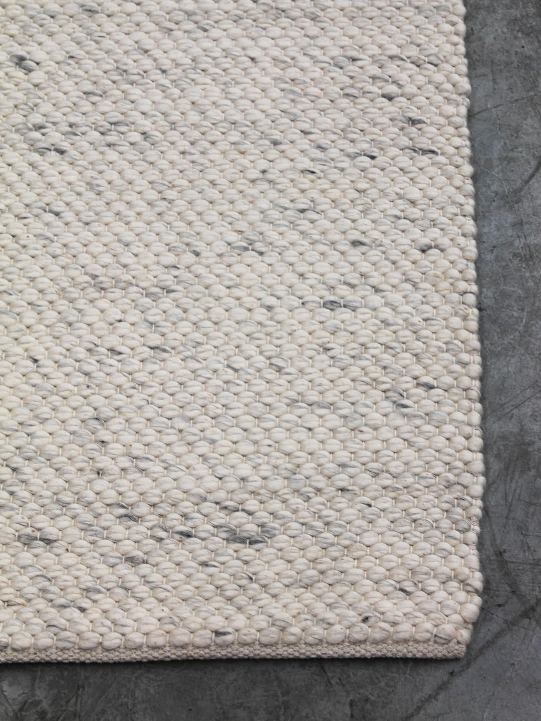 Ice Ivory pure wool rugs Perth