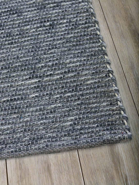 Natural Denim pure wool rugs Perth