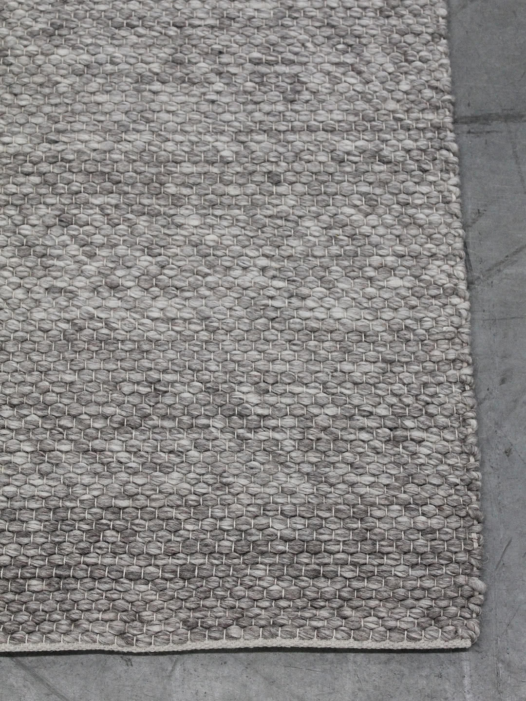 Silver pure wool rugs Perth