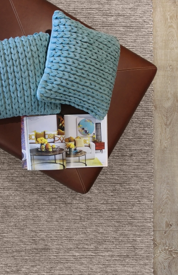 Xylo-Natural Light Grey pure wool rugs Perth