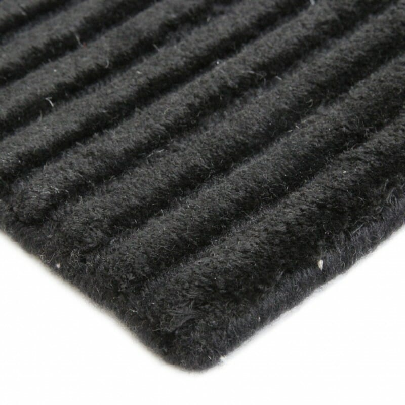 plaza-hand-knotted-viscose-and-wool-rug-perth-Stans-modern-contemporary-charcoal