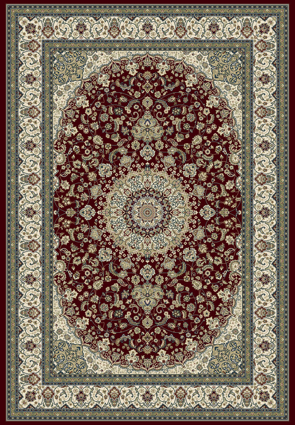 traditional-rugs-classic-medallion-red-large-floor-rugs-da-vinci
