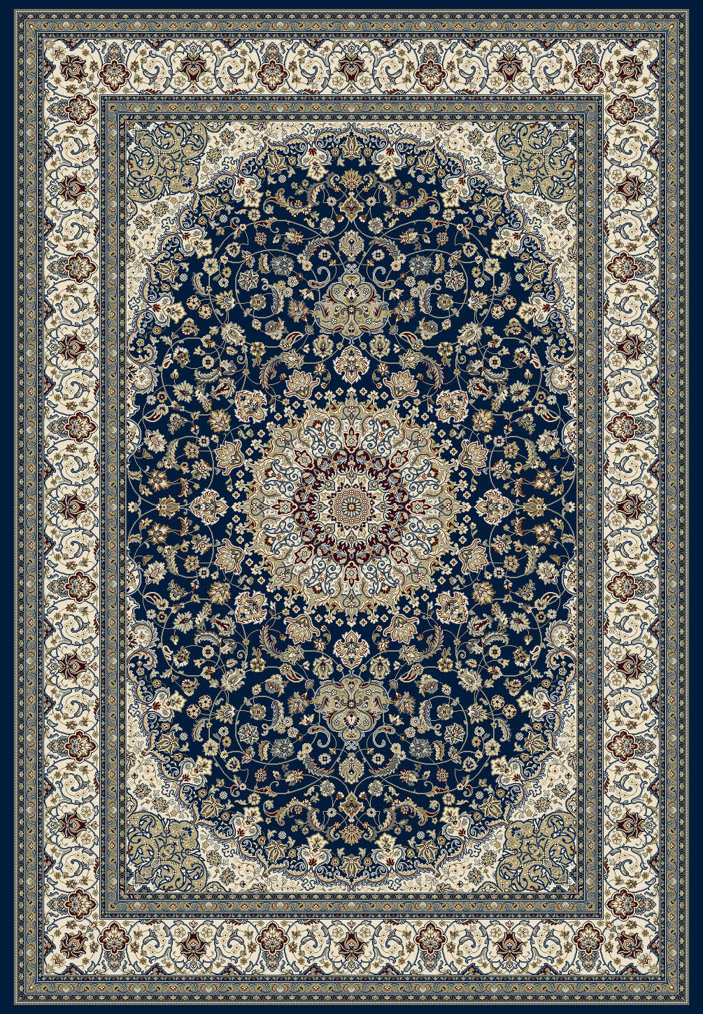 traditional-classic-medallion-blue-classic-rugs-perth-stans-rug-centre