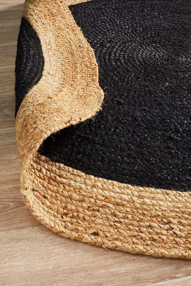 Polo-natural-jute-stans-rugs-perth-black