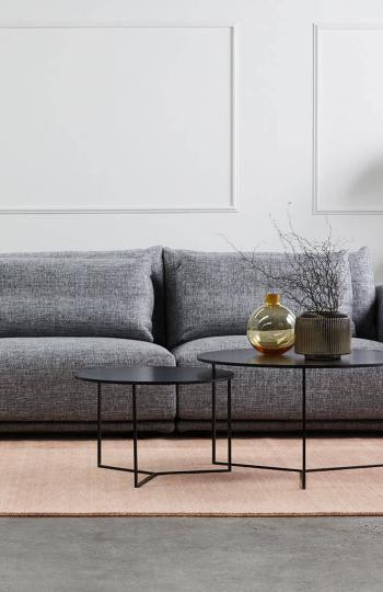 Diva-Rosetta-pink-pure wool rug