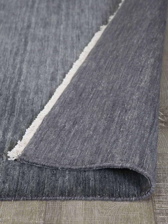 Diva-shadow-grey-pure wool rug