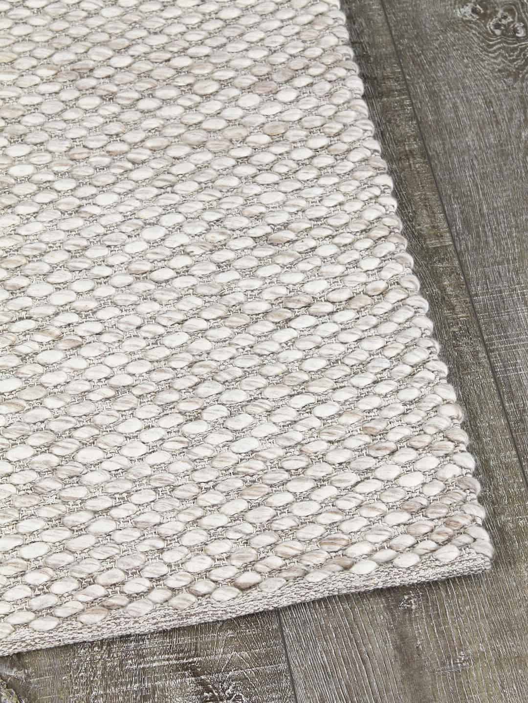 palmas beige cream texture flat weave stans rug centre