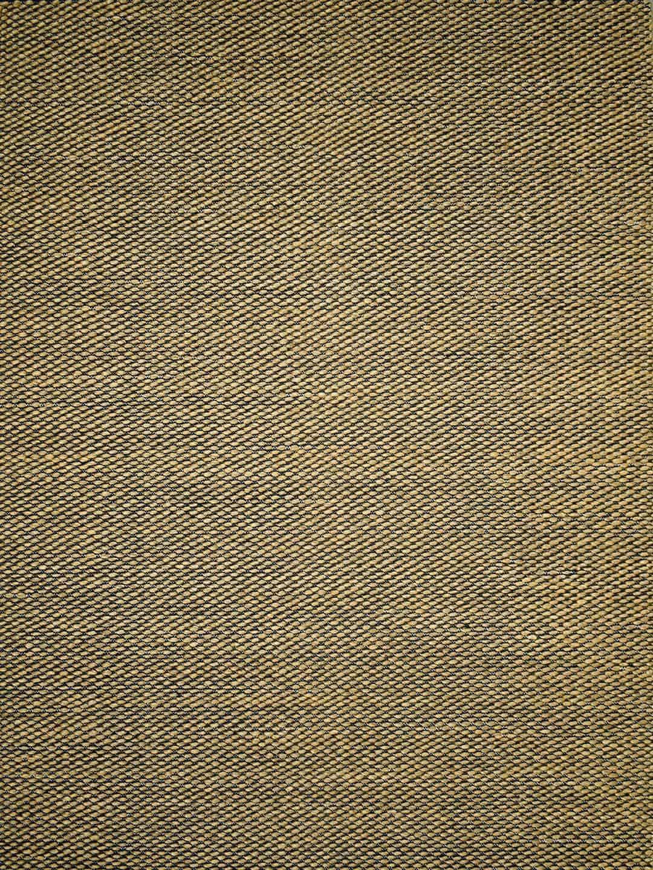 palmas honey yellow black texture flat weave stans rug centre