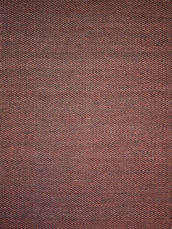 palmas rust wool flat weave texture stans rug centre